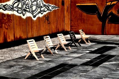 Stef Chair goes urban