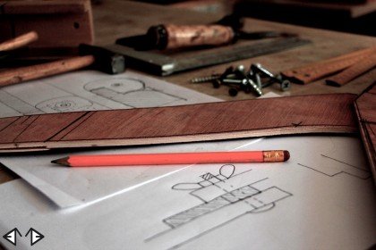 From pencil sketching to crafting